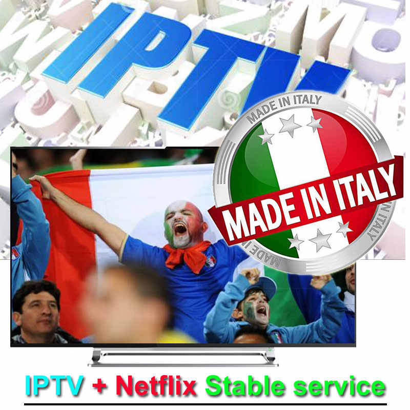 Assinatura IPTV Netflix Com o Italiano 1100 + 10000 Ao Vivo + iptv VOD 100% estável Android iptv mag M3U código quente clube xxx teste gratuito