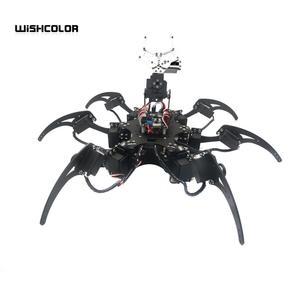 20DOF робот паук шестиугольник шесть ножек Роботизированная алюминиевая рама комплект