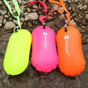 Boya inflable impermeable de PVC para nadar, 1 Uds., boya salvavidas para deportes acuáticos, remolque de secado al aire, bolsa de flotación para vela