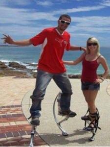 Kangaroo-Shoes Stilts Jumping Skyrunner Women Fitness Adult Exercise Bouncing