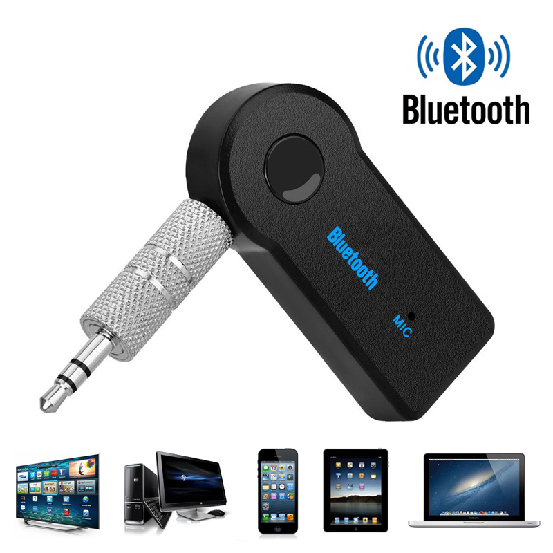 Wireless Bluetooth Receiver Adapter Dongle Mini 4.1 Stereo 3.5mm Jack For Car Computer Music Audio Aux For Headphone Handsfree