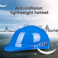 Легкий защитный шлем против столкновений Материал безопасности шлем для автомеханики  заводских работников  страховые шлемы