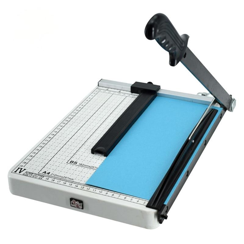 a3 a4 cortador de papel manual foto cortador de papel de aco