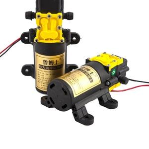 Image 3 - DC12V 8L/Min Grote Debiet Landbouw Elektrische Waterpomp Micro Hoge Druk Membraanpomp Water Spuit Wasstraat