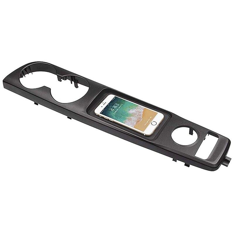 Module de protection de charge de téléphone sans fil de voiture Qi pour Lexus Is300 2015-2019 plaque de charge rapide accessoires de boîte d'accoudoir de voiture (gauche)