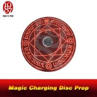 Jxkj1987 creatvie jogo de escape  adereços de jogo  disco mágico  colocar um gatilho no meio do disco mágico it será iluminado