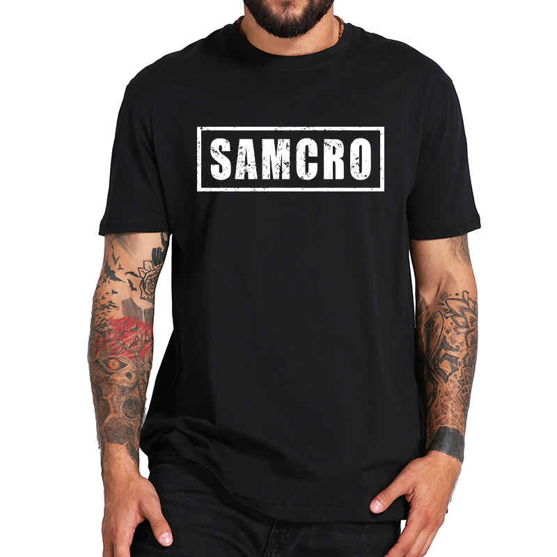 Sons of Anarchy Beat Up Logo Adult Ringer T Shirt S