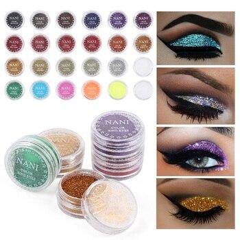 Mini 24 Colors Glitter Metallic Pigment Eyeshadow Mono Eyeshadow Matte Lasting Eye Shadow Waterproof Eye Makeup Wholesale TXTB1 2