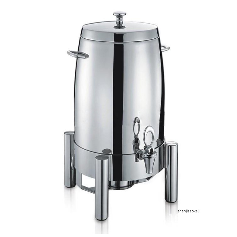 19L Delux Juice Container Commercial Tripod Juice Kettle Full Stainless Steel Keep Hot/cold Drinking Container For Buffet/hotel