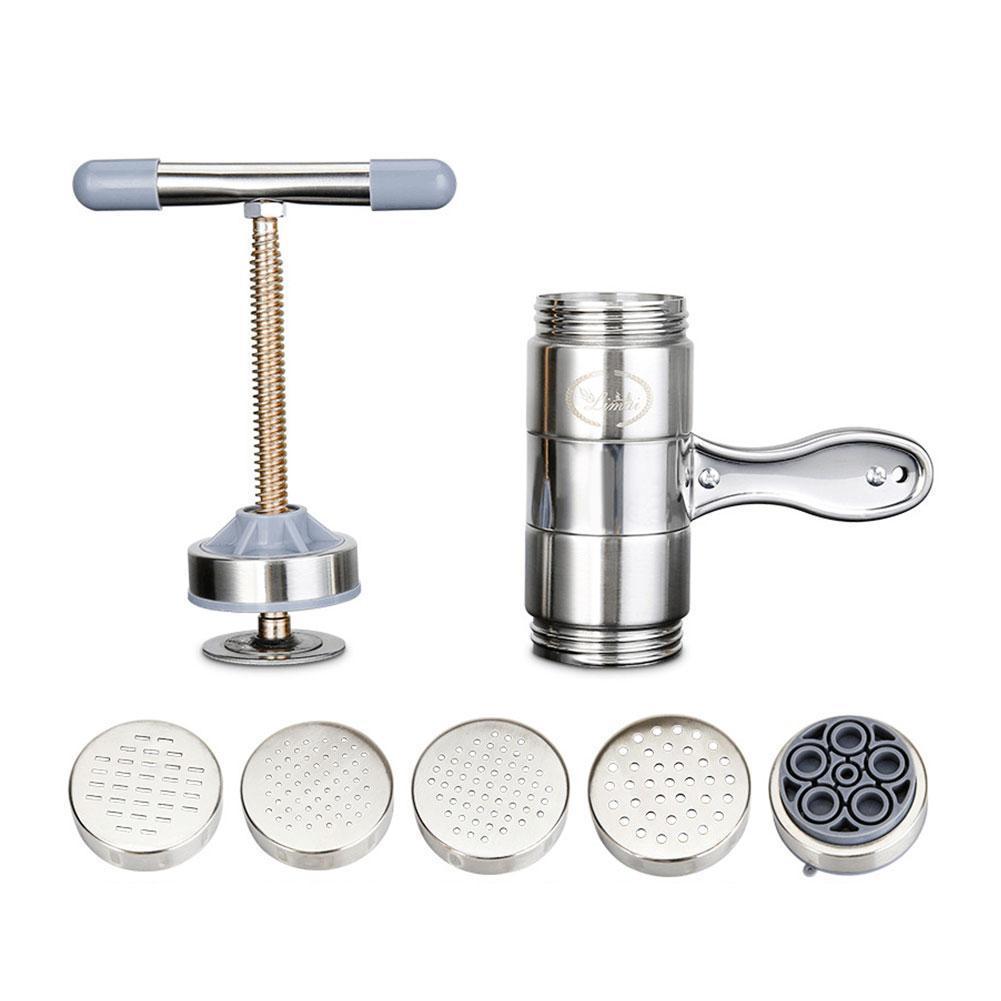 Mini Noodle Press Machine Steel Manual Noodle Spaetzle Pastas Making Maker Presse Maker Household Machine Y5I0