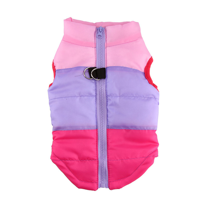 Waterproof Dog Jacket and Warm Pet Clothing with Zipper Design 28