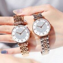 Luxury Crystal Women Bracelet Watches 2019 Top Bran