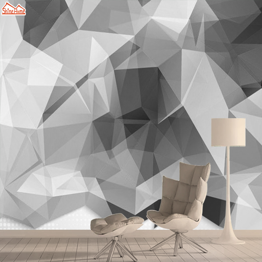 Abstract Brick 3d Pattern Wallpapers Mural Rolls Walls Living Room Wallpaper For Wall Papers Home Decor Black White Background