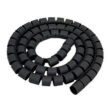5 футов компьютерный кабель провод шнур на молнии Галстук Органайзер обертывание