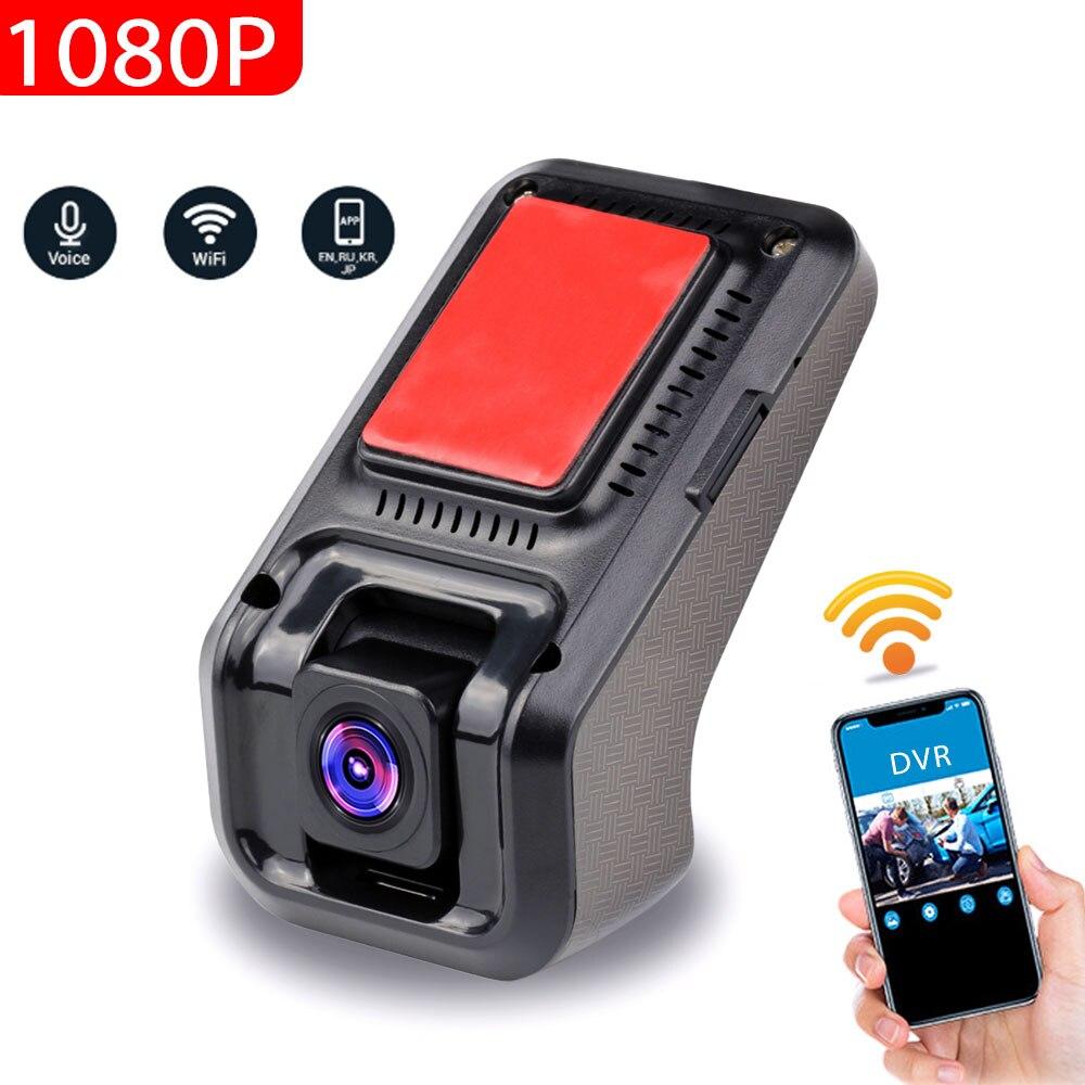 WIFI Wireless Car DVR Dash Cam Voice Control 1080P WiFi ADAS HD Night Vision Vehicle Driving Recorder Dashcam Registrar Camera|DVR/Dash Camera| |  - title=