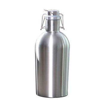SIkè - Borraccia in acciaio inossidabile da 2L