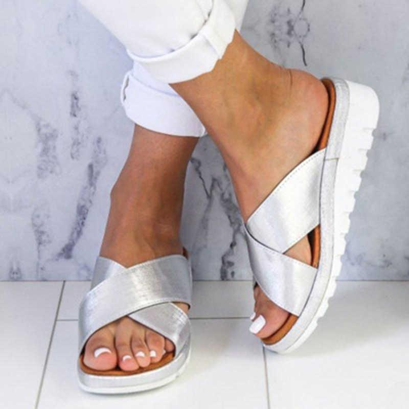 2020 Summer Sandals Women Slippers Flat