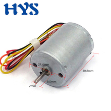 HYS Brushless Motor DC 12 Volt High Speed Electric Motor CW/CCW BLDC 12V 6000rpm Micro Mini Motors DC 12  V DIY toys bringsmart r2430 dc micro brushless motor 12 volt 6000rpm mini high speed motor with brake high precision low noise bldc
