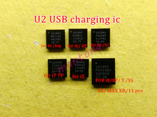 10pcs 1610A1 1610A2 1610A3 610A3B 1612A1 U2 USB 충전 tristar ic for iphone 5S 6 6plus 6s 6sp 7 7plus 8 8P X XS/Max 11/pro