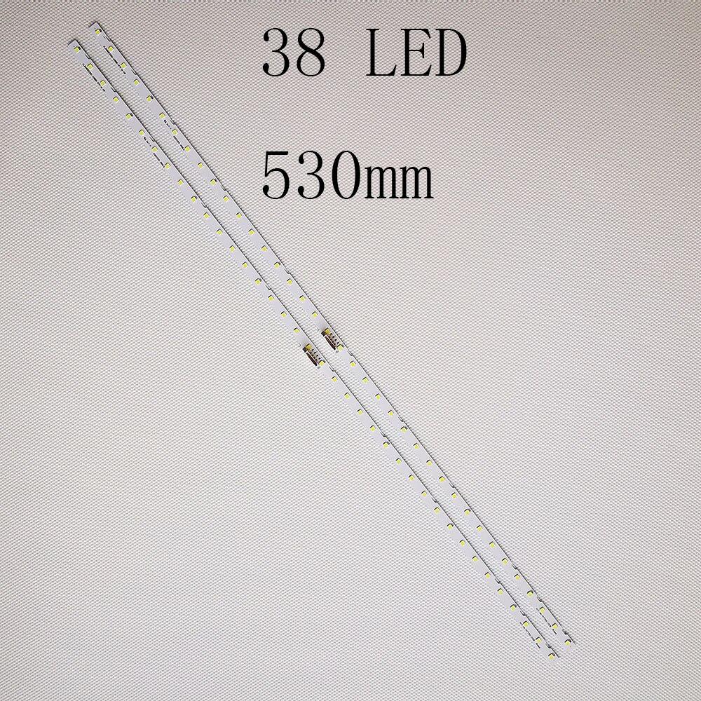 50PCS LED Strip 38 lamps For Samsung UE49NU7172 UA49NU7800 UE49NU7500 CY-NN049HGLV2V CN049HGLV5V CY-NN049HGEV3H BN61-15483A