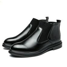 Обувь из натуральной кожи ботильоны от Челси Мужская зимняя