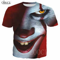 Pennywise 3D Clown Hoodies Sweatshirts Men Women Funny Horror T Shirts Hoody Pockets Tops Casual Sportswear Pullovers Tracksuit