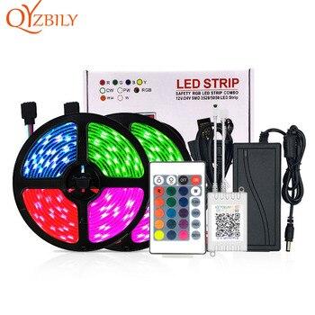 LED Strip Lights Luces Led Tira De Rgb Lights for Room Fita Neon Room Decoracion Bande Fita Led Rgb 5050/2835 Bluetooth 5M/10M