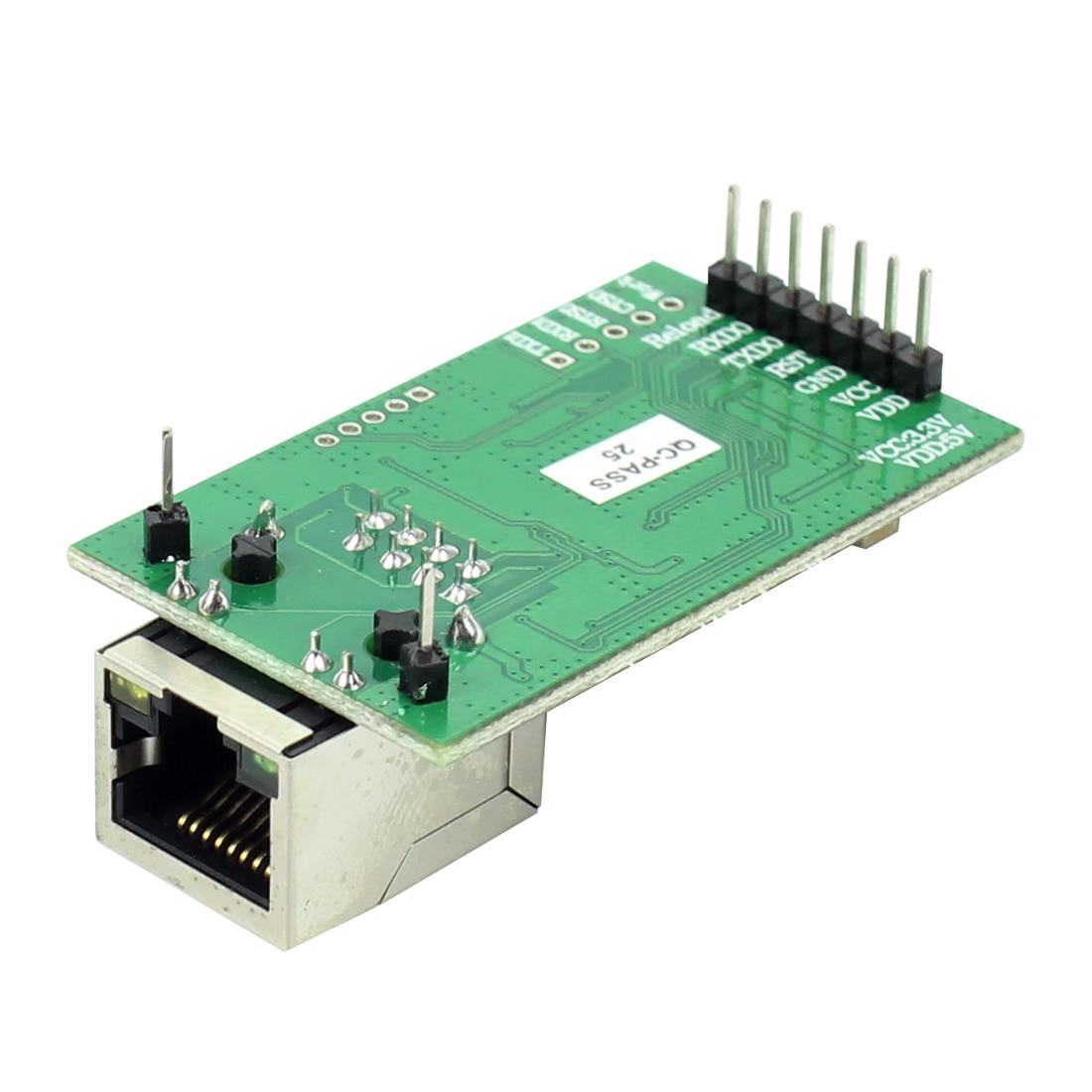 1 piece USR-TCP232-E2 Pin Type Serial UART TTL to LAN Ethernet Module 2 serial ports 5
