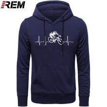Venda quente moda cyclings batimento cardíaco padrão unissex hoodies, camisolas