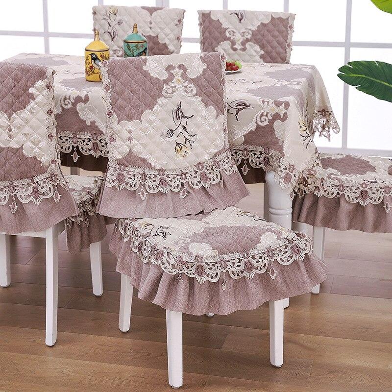 Купить европейские скатерти пасторальная вышитая скатерть полый цветочный