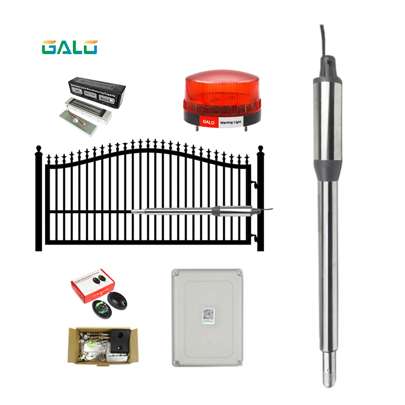 Automatic (660lb) Single Swing Automatic Gate Opener Kit Suitable for Opening Gates /Gate Motor Solar Powered Optional