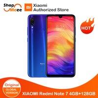 Global Version Xiaomi Redmi note 7 4GB RAM 128GB ROM Snapdagon 660 Octa 6.39 4000mAh AMOLED Display 48MP Al Triple Camera