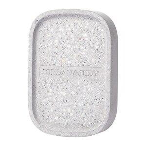 Image 5 - Youpin Jordan&Judy Diatom Mud Soap Tray Bathroom Quick drying Absorbent Pad Diatom Pad Moistureproof Soap Box