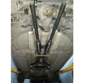"""Image 5 - Universal Auto Auto Nahen Auspuff Tornado Ableitenden Schalldämpfer Rohr Edelstahl 2 """"(51mm)"""