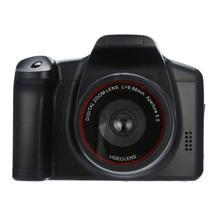 DishyKooker 16 МП HD 1080P 2,4 дюймов TFT экран анти-встряхивание цифровая зеркальная камера со встроенным микрофоном