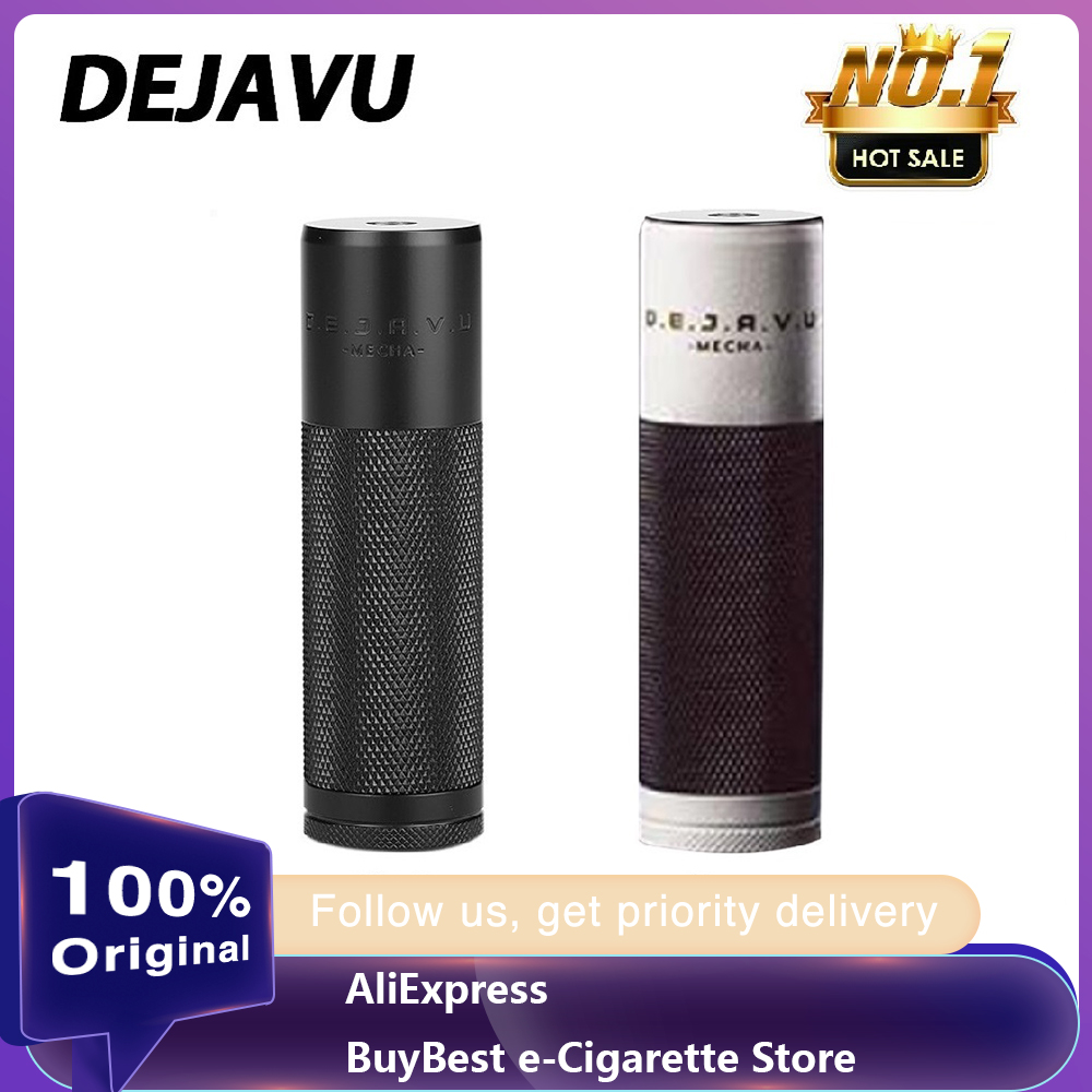 100% Original DEJAVU DJV Mech MOD With Unique Hybrid System & Optional Spring / Magnet Switch E-cigarette Vaping Mod