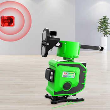 8 / 12 Line Laser Level Green Line Blue Line 3D Self Leveling 360 Horizontal Vertical Cross Super Powerful Green Laser Beam Line