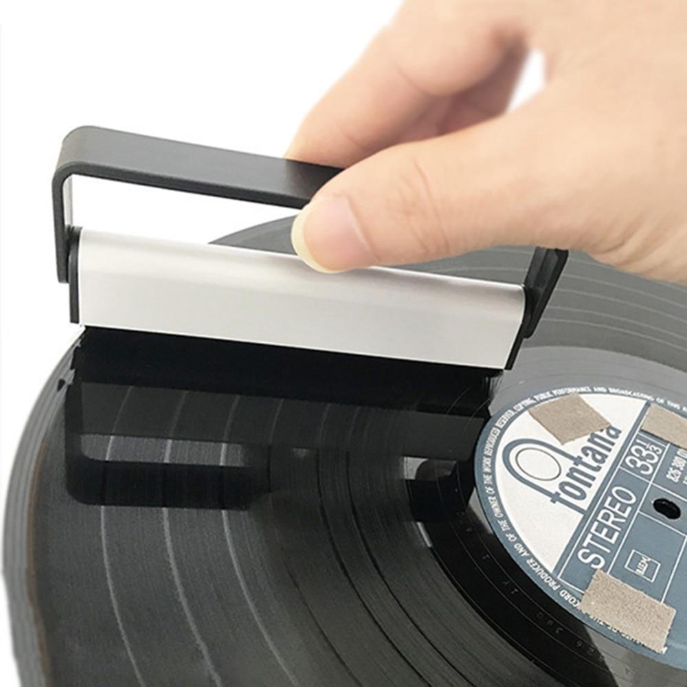 Anti-Static Carbon Fiber Cleaning Brush Vinyl Record Cleaner Brush for CD//LP
