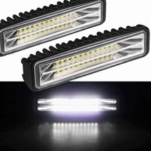 Car Light Assembly Led Fog Lights Off Road 4x4 48W Spot Beam Led Light Bar For Trucks ATV SUV DRL LED Spotlight Work Light Bar