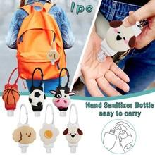 Gel Desinfectante Hand Sanitizer Dispensing Kid Cartoon Cute Portable Hang Dispenser Gel hydroalcoholic Sanitizer 30ML 1/3 Pcs