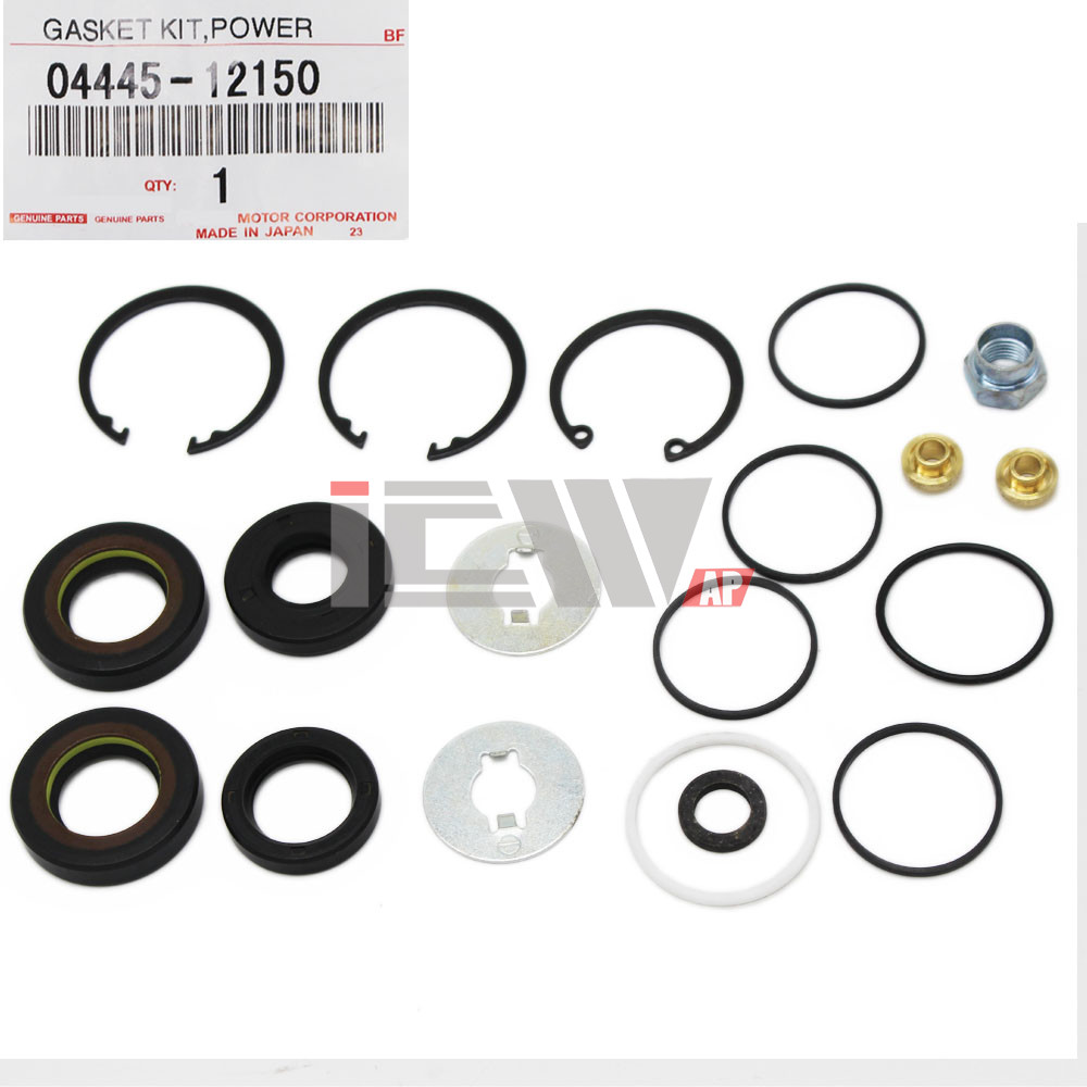 Power steering assembly kit gasket for rack & pinion For TOYOTA Corolla Sprinter Spacio OEM:04445-12150