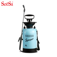 Seesa Small garden watering can watering watering car wash water pot high agricultural hand pressure sprayer