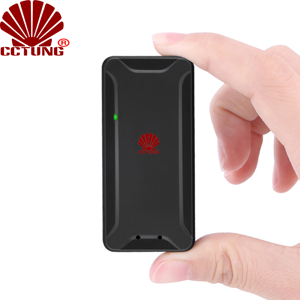 Super Mini Portable Animal GPS Tracker With 1000mAh Recharge Battery Voice Monitoring & Sound Alarm Geo-fence Asset Tracker title=
