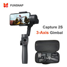 Funsnap Capture2S 3-Axis Smartphone Handheld Gimbal Stabilizer Focus Pull Zoom For Smartphone Samsung iPhone Gopro Xiaomi
