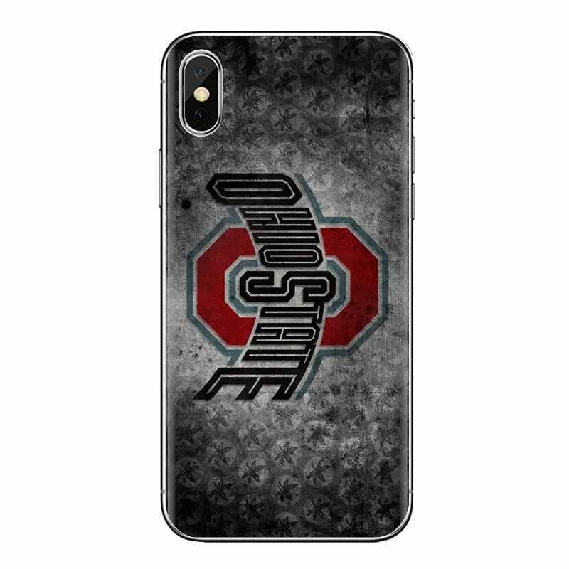 Ohio State Buckeyes voetbal Logo Siliconen Tas Case Voor Oneplus 3T 5T 6T Nokia 2 3 5 6 8 9 230 3310 2.1 3.1 5.1 7 Plus 2017 2018