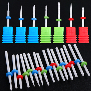 1pcs Ceramic Nail Drill Bits Electric Milling Cutter For Manicure Pedicure Dead Skin Remove Cleaner Nail Art Tools JITX01-14-1