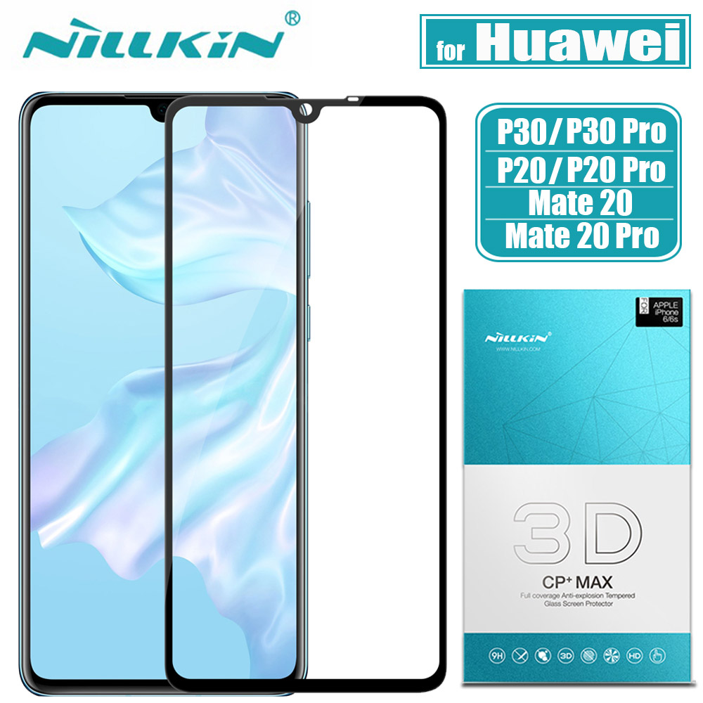 <font><b>Huawei</b></font> <font><b>P30</b></font> P20 <font><b>Pro</b></font> <font><b>Glass</b></font> Screen <font><b>Protector</b></font> Nillkin 3D Full Glue Coverage Safety Protective Tempered <font><b>Glass</b></font> for <font><b>Huawei</b></font> Mate 20 <font><b>Pro</b></font> image