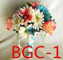 Acessórios de noiva de casamento segurando flores 3303 bgc