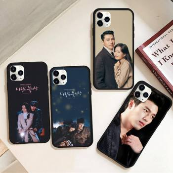 Son Ye Jin Hyun Bin Phone Case Rubber For iphone 12 11 Pro Max Mini XS Max 8 7 6 6S Plus X 5S SE 2020 XR cover image