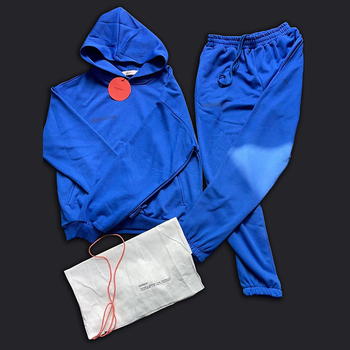 Mens Tracksuits Two Piece Loose Sweatshirt Sweatpant Sporting Long Track Pants Sweat 2 Piece Tracksuits Outfits Solid Color Sets 2